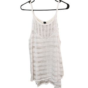 Free People We The Free Oversized Crochet Tank Top